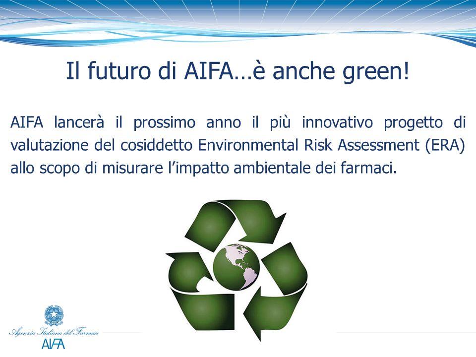 Il futuro di AIFA…è anche green!