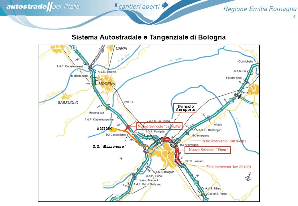 Sistema Autostradale e Tangenziale di Bologna