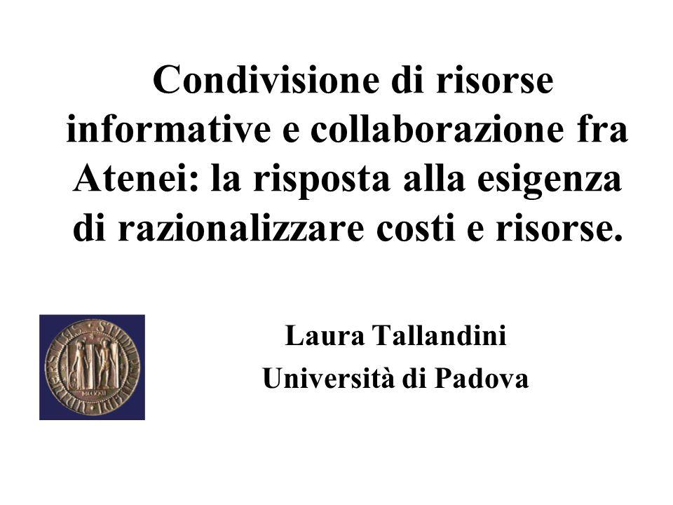 Laura Tallandini Università di Padova