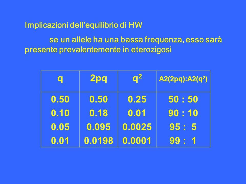 Implicazioni dell'equilibrio di HW