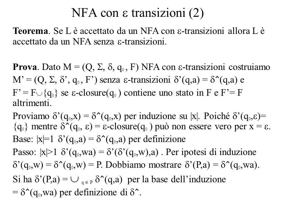 NFA con e transizioni (2)