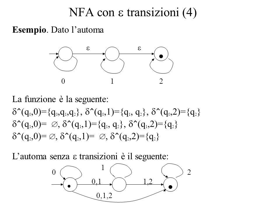 NFA con e transizioni (4)