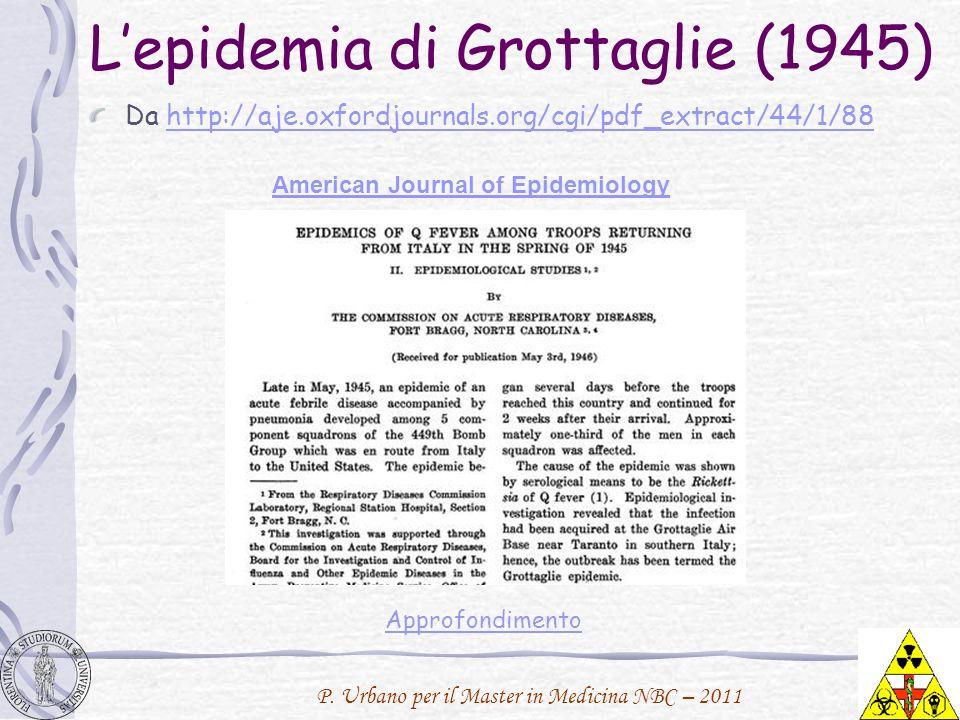 L'epidemia di Grottaglie (1945)