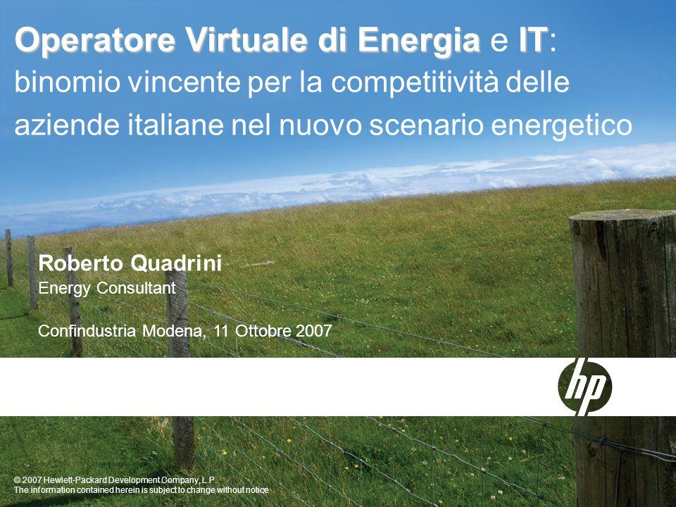 Operatore Virtuale di Energia e IT: binomio vincente per la competitività delle aziende italiane nel nuovo scenario energetico