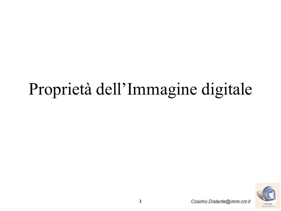 Proprietà dell'Immagine digitale
