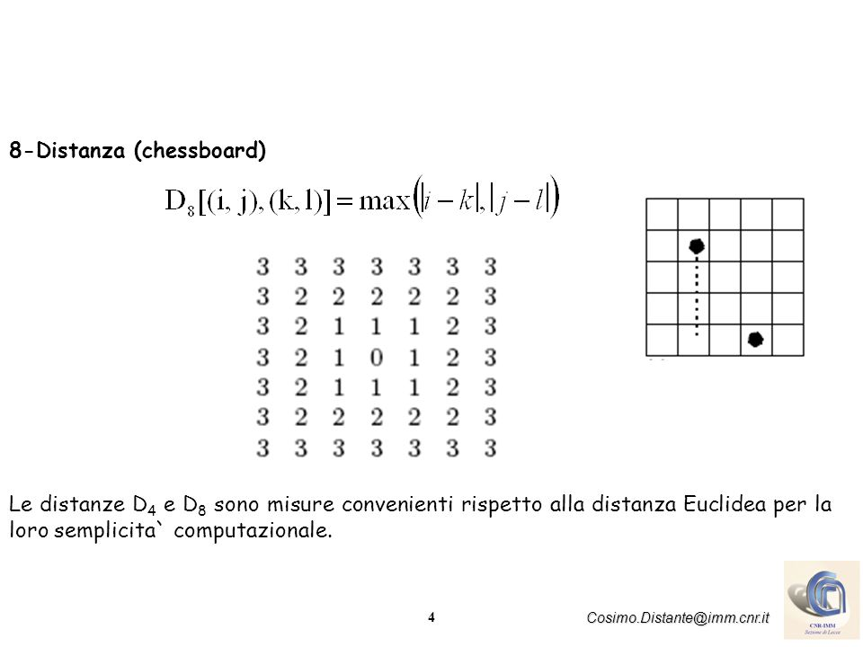 8-Distanza (chessboard)