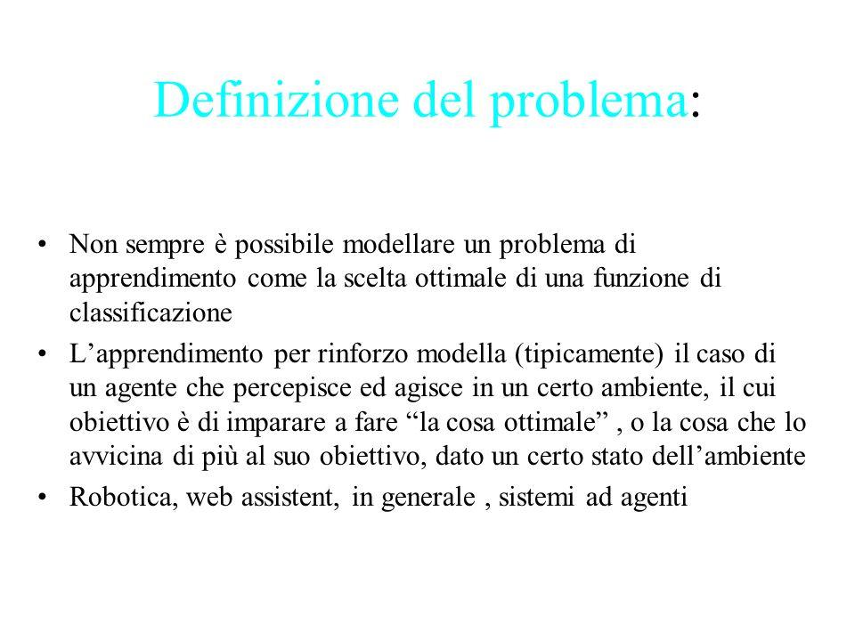 Definizione del problema: