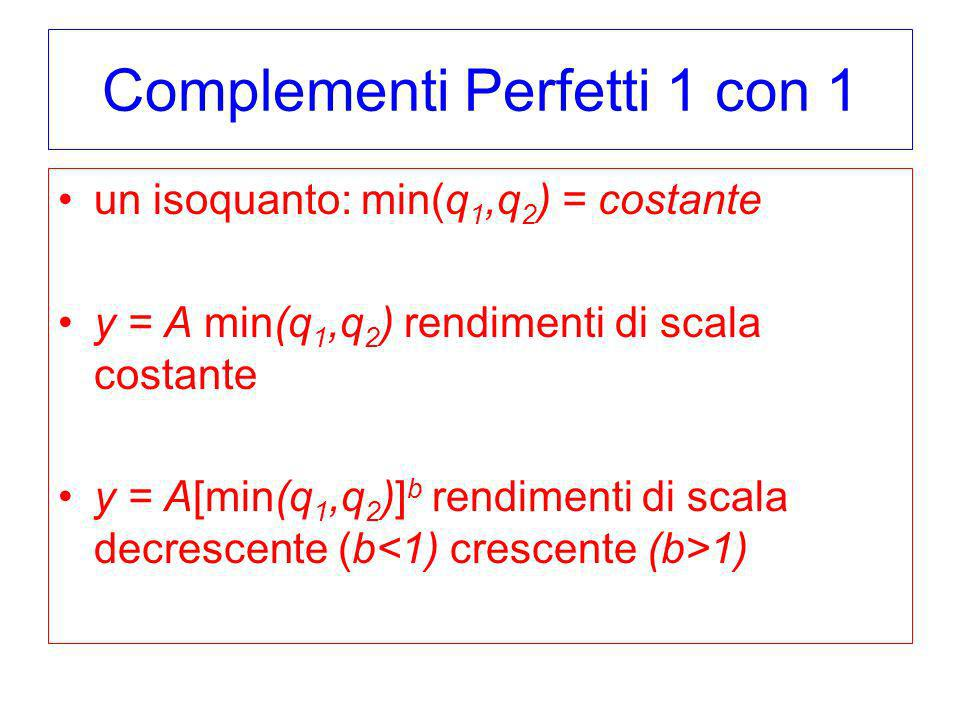 Complementi Perfetti 1 con 1