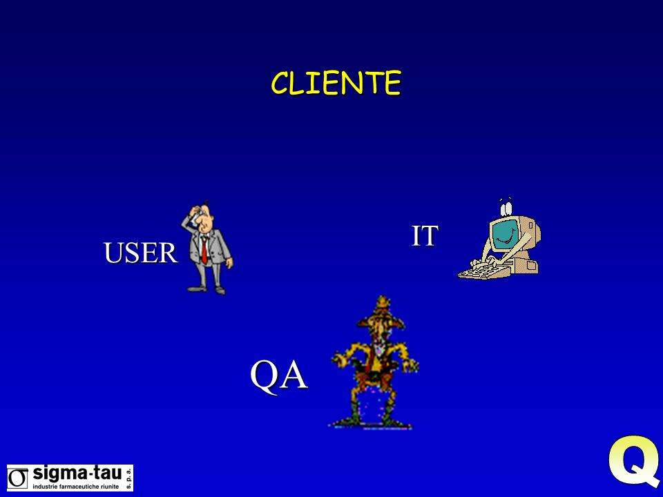 CLIENTE IT USER QA Q