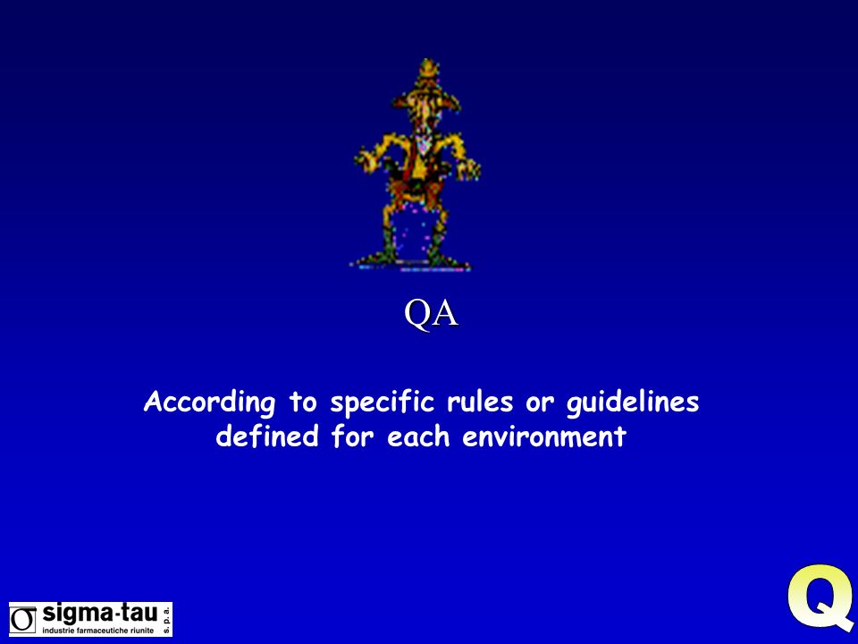 According to specific rules or guidelines defined for each environment