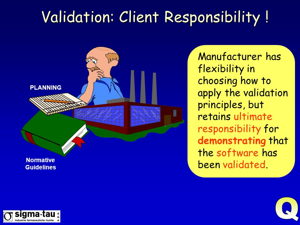 Validation: Client Responsibility !