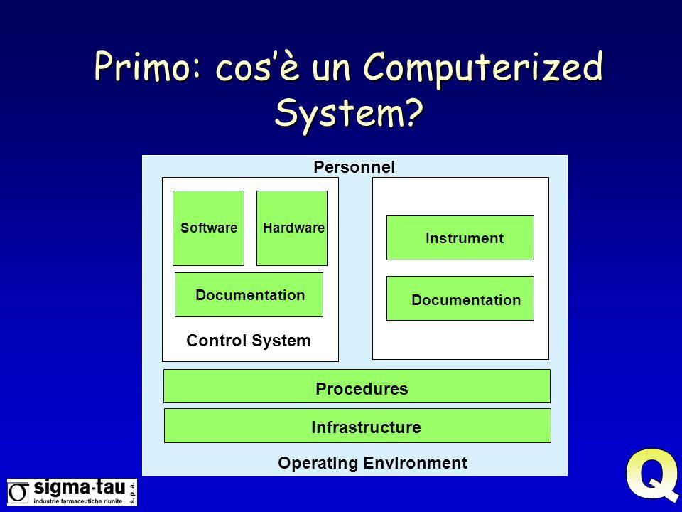 Primo: cos'è un Computerized System