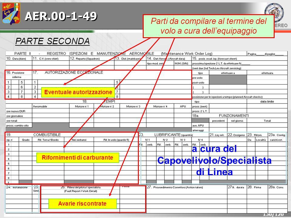 AER.00-1-49 a cura del Capovelivolo/Specialista di Linea PARTE SECONDA