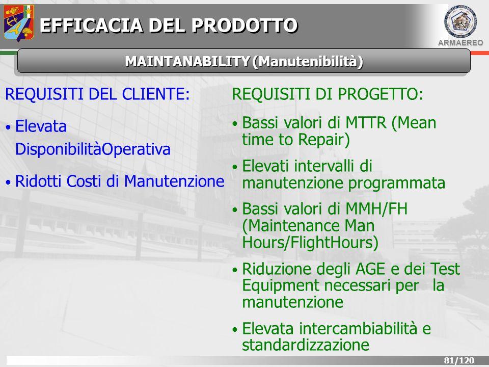 MAINTANABILITY (Manutenibilità)
