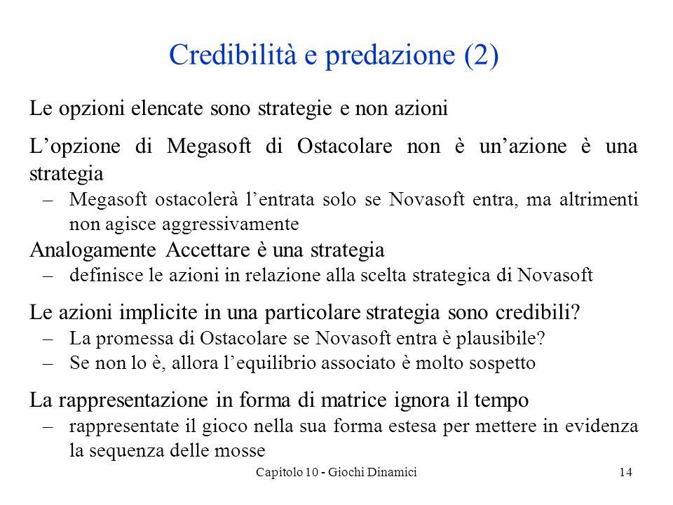Credibilità e predazione (2)