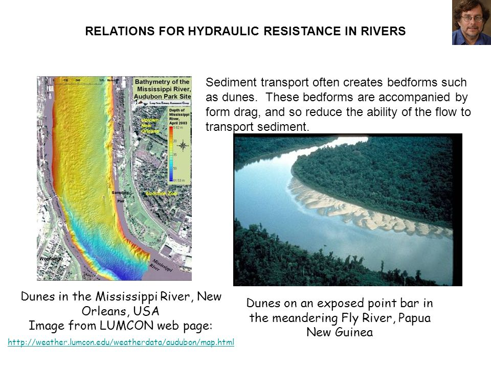 RELATIONS FOR HYDRAULIC RESISTANCE IN RIVERS