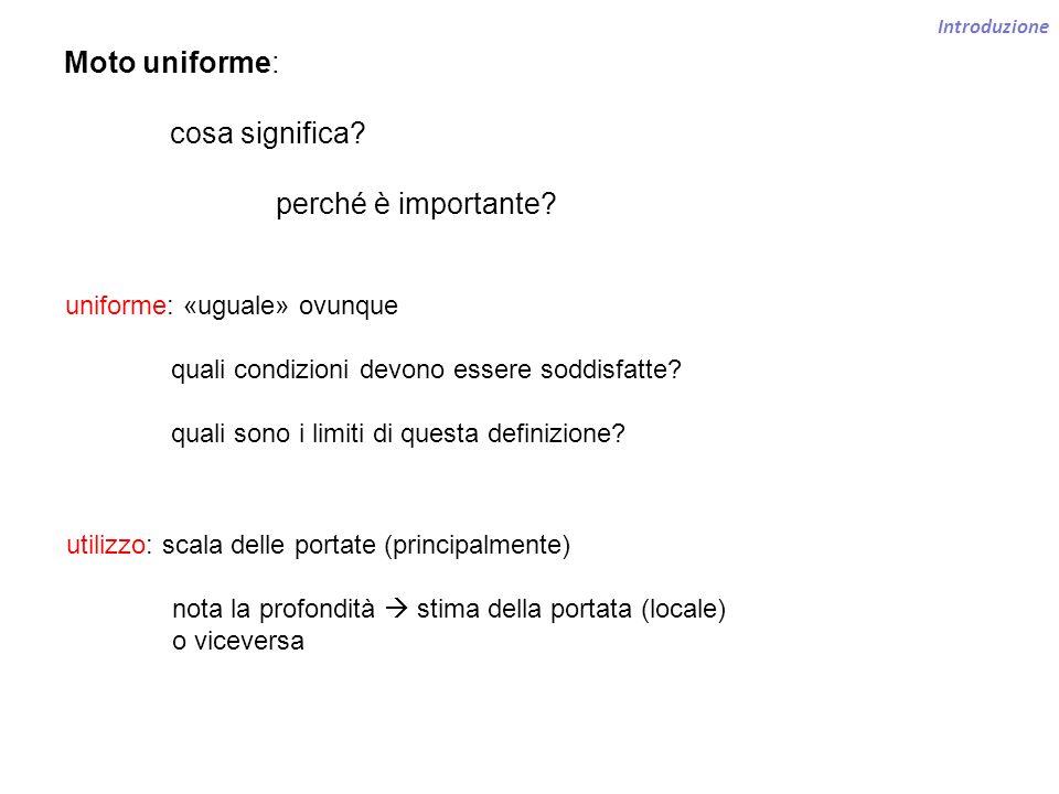 Moto uniforme: cosa significa perché è importante