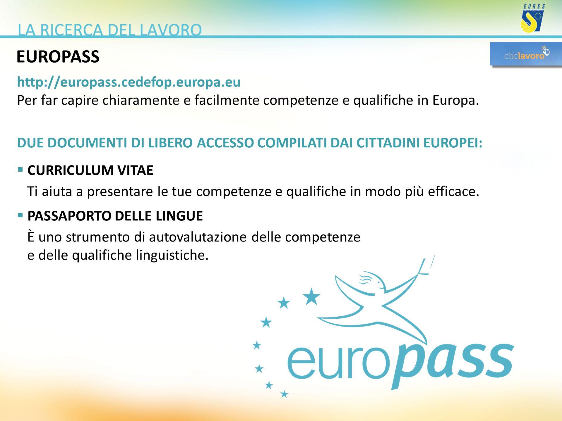 EUROPASS http://europass.cedefop.europa.eu