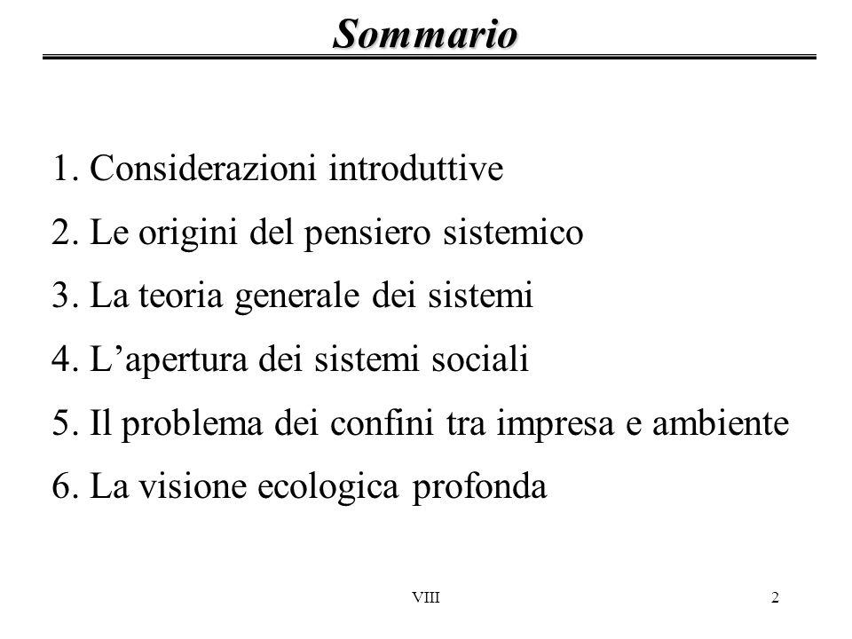 Sommario 1. Considerazioni introduttive