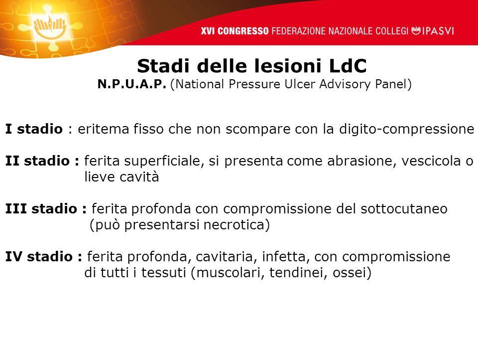 Stadi delle lesioni LdC