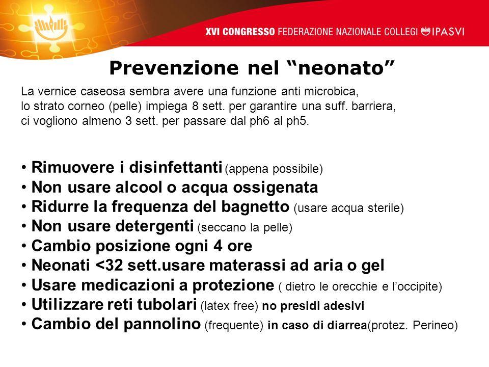 Prevenzione nel neonato