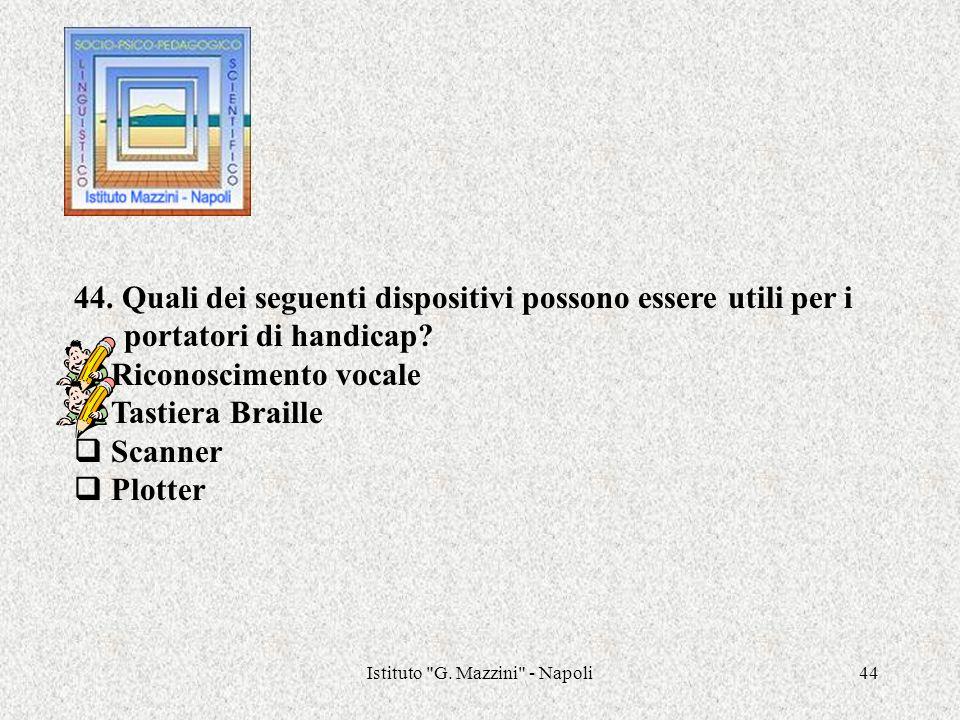 Istituto G. Mazzini - Napoli