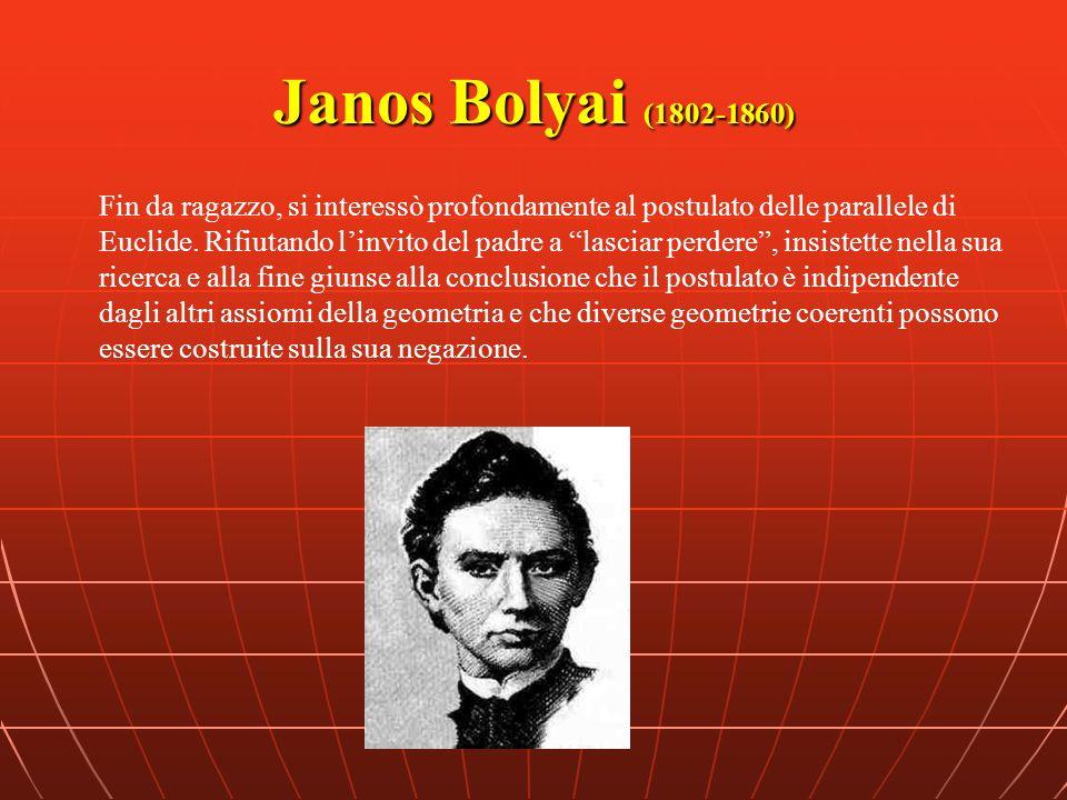 Janos Bolyai (1802-1860)