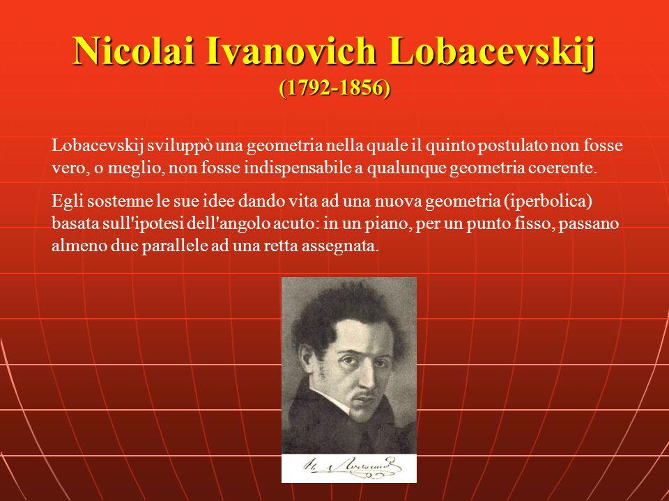Nicolai Ivanovich Lobacevskij (1792-1856)