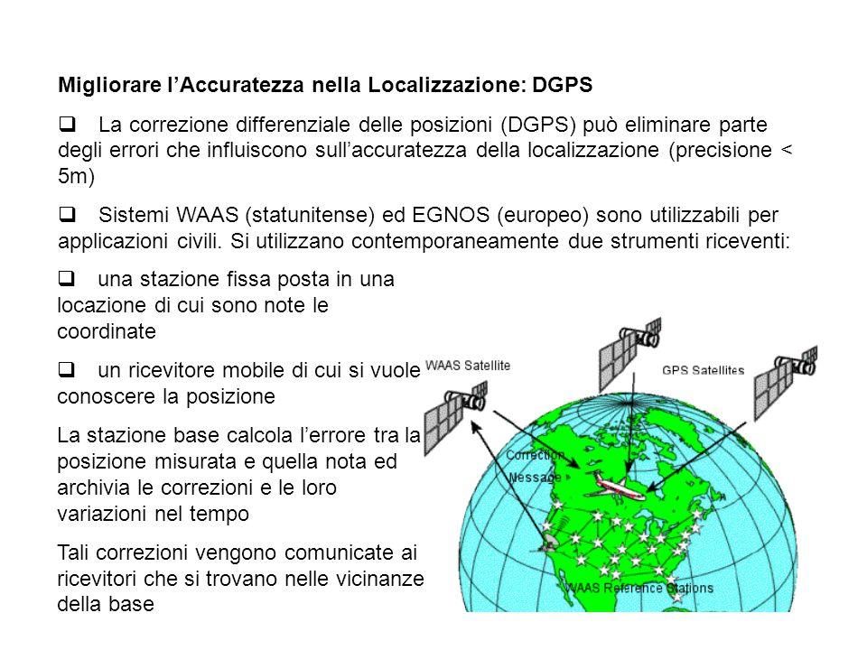 Migliorare l'Accuratezza nella Localizzazione: DGPS