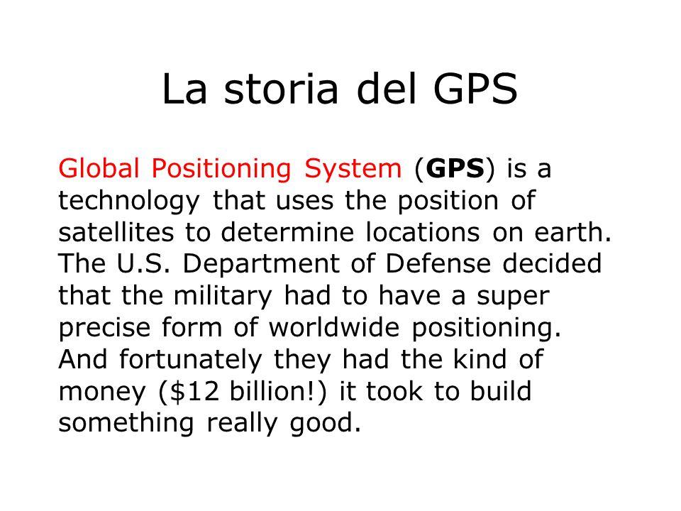 La storia del GPS