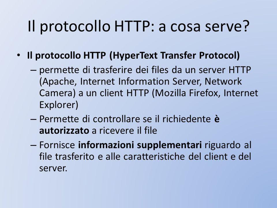 Il protocollo HTTP: a cosa serve