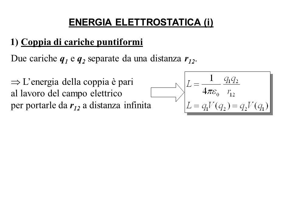 ENERGIA ELETTROSTATICA (i)