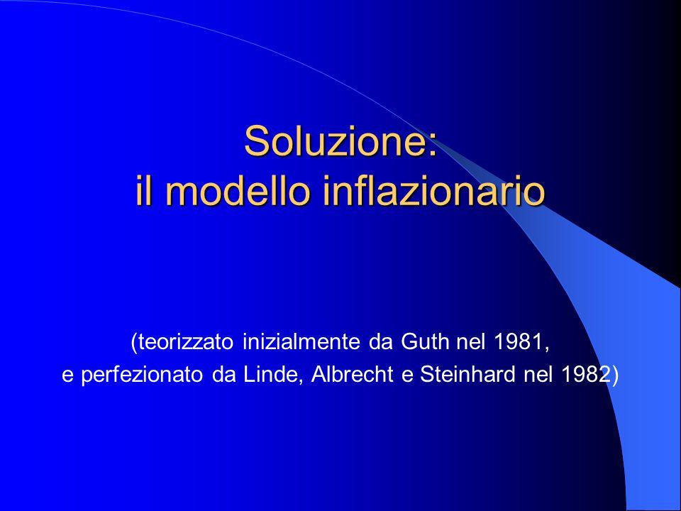Soluzione: il modello inflazionario