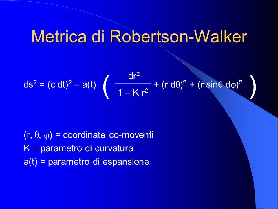 Metrica di Robertson-Walker