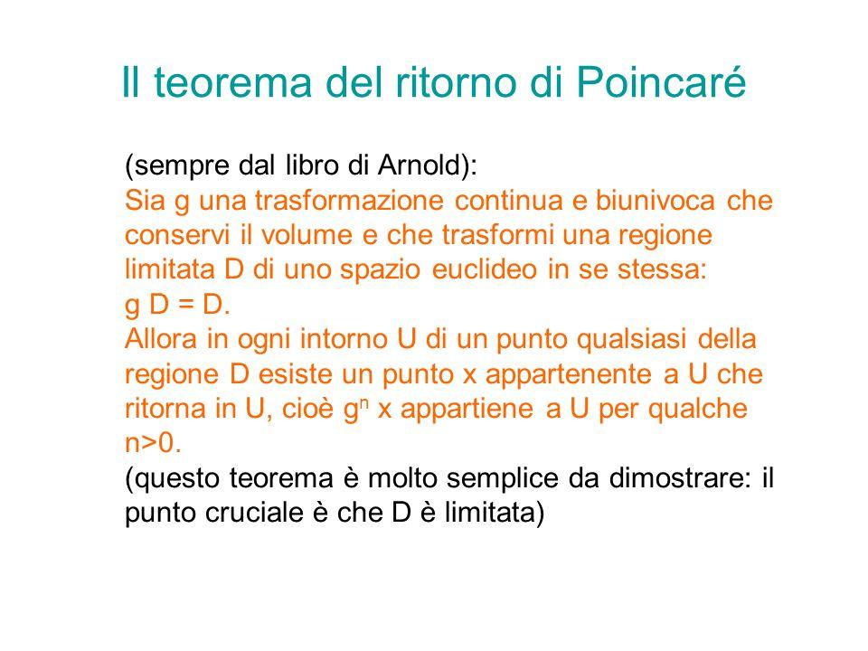 Il teorema del ritorno di Poincaré
