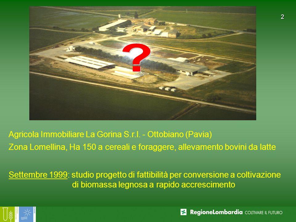 Agricola Immobiliare La Gorina S.r.l. - Ottobiano (Pavia)