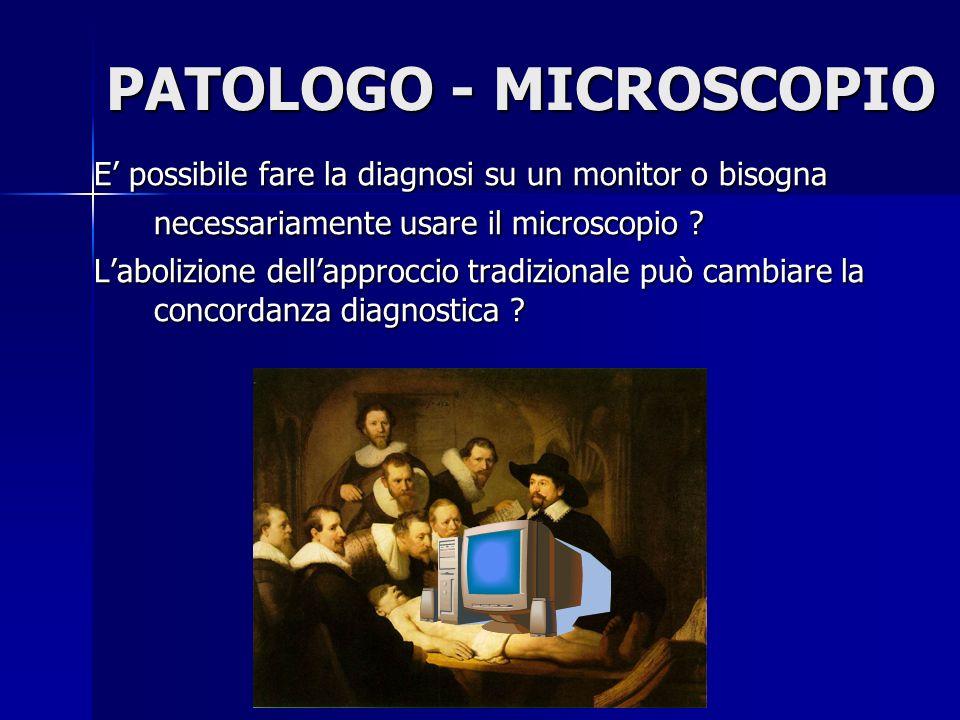 PATOLOGO - MICROSCOPIO