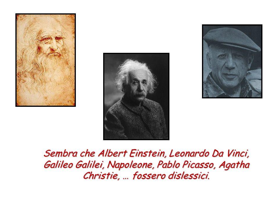 Sembra che Albert Einstein, Leonardo Da Vinci,