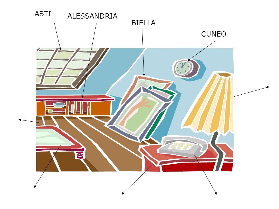 ASTI ALESSANDRIA BIELLA CUNEO