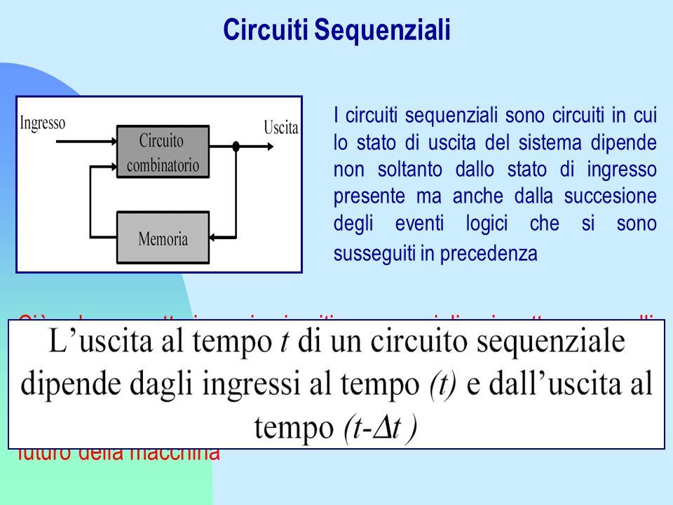 Circuiti Sequenziali
