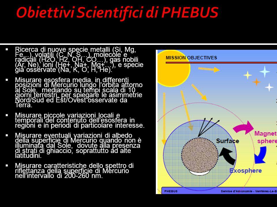 Obiettivi Scientifici di PHEBUS