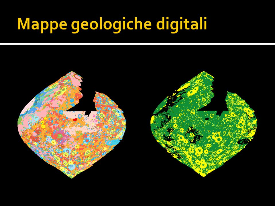 Mappe geologiche digitali
