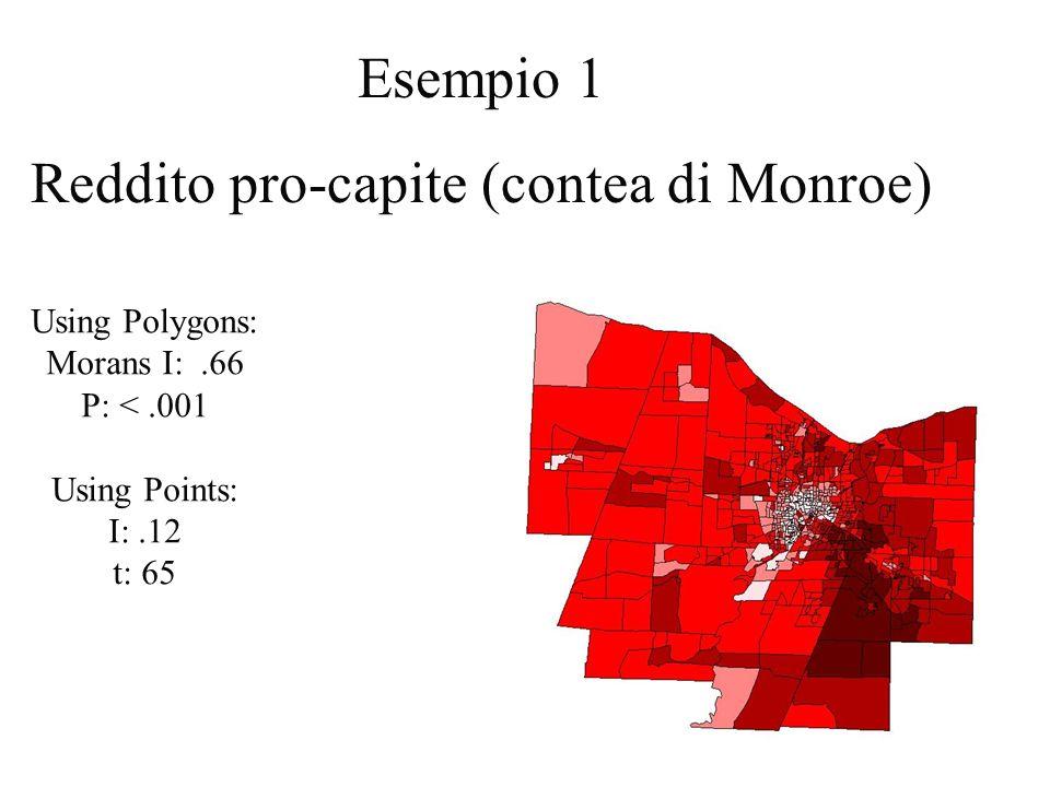 Reddito pro-capite (contea di Monroe)