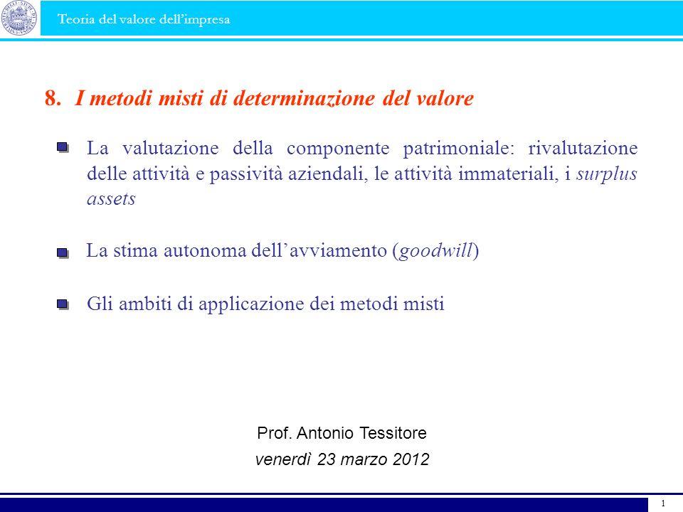 Prof. Antonio Tessitore
