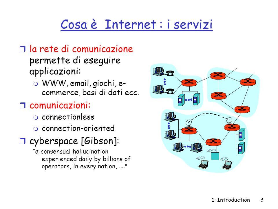Cosa è Internet : i servizi