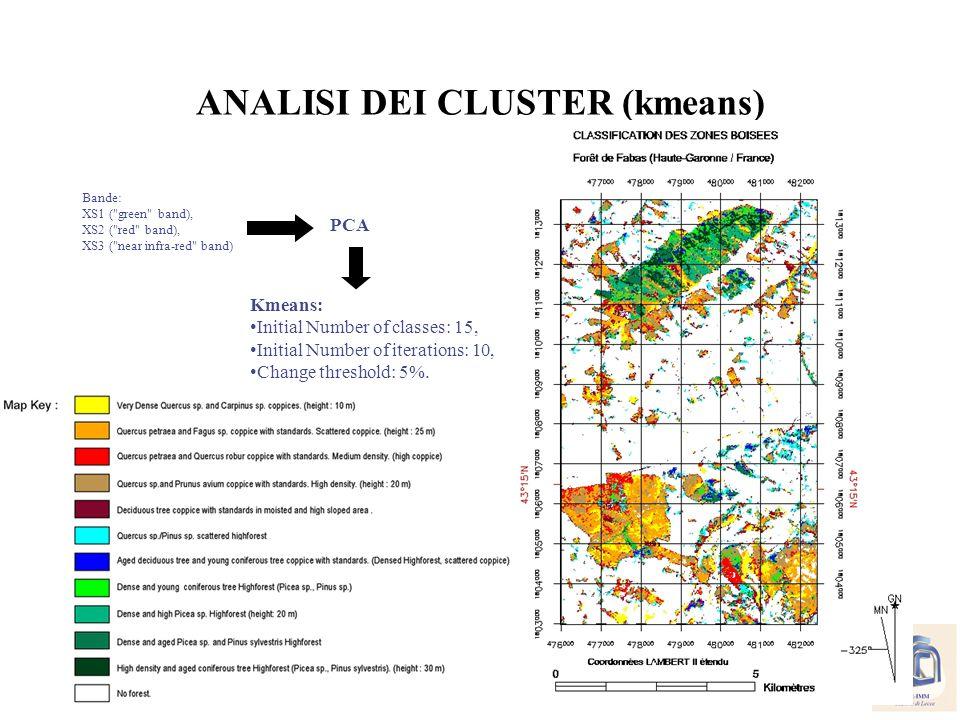 ANALISI DEI CLUSTER (kmeans)