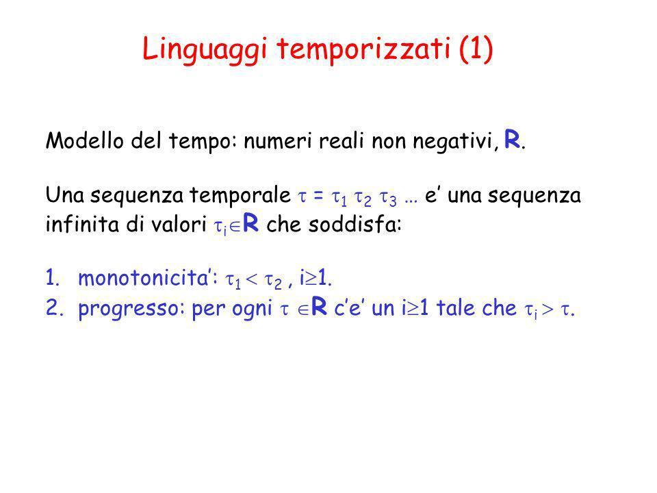 Linguaggi temporizzati (1)