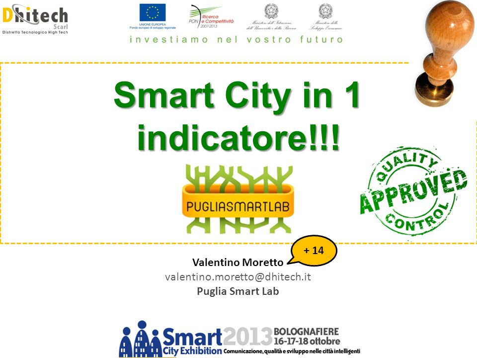 Smart City in 1 indicatore!!!