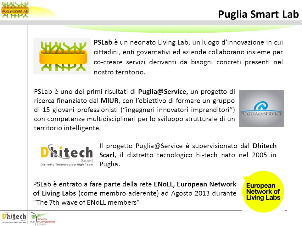 Puglia Smart Lab