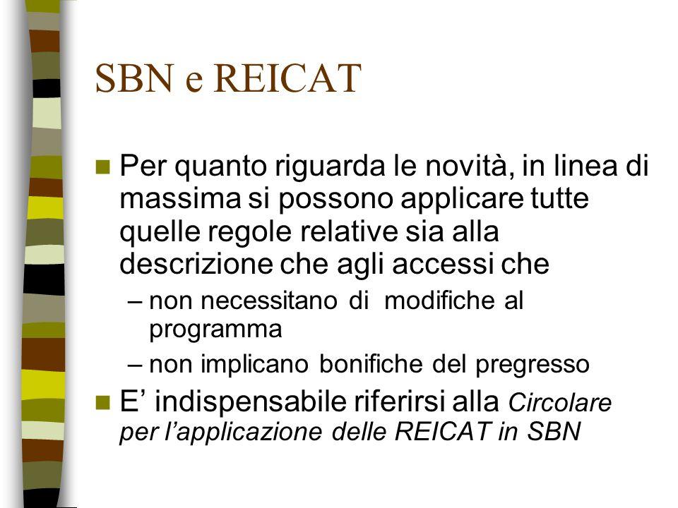 SBN e REICAT